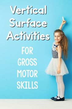 Vertical surface activities to work on gross motor skills. Combining all of the benefits of the vertical surface for gross motor skill dvelopment. Fine Motor Activities For Kids, Motor Skills Activities, Gross Motor Skills, Sensory Activities, Preschool Activities, Physical Activities, Kids Motor, Calming Activities, Dementia Activities