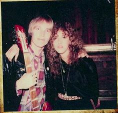 Stevie Nicks with Tom Petty