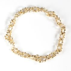 I met the talented Audrius Krulis at the Tucson Jewelry Show. Here is one of my favorite classic gold bracelets of his.