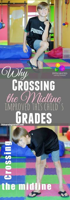 Why Crossing the Midline Activities Helped this Child Listen to his Teacher | ilslearningcorner.com