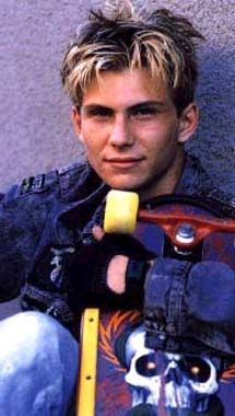 Gleaming the Cube--Christian Slater and Tony Hawk in the same movie...love it.