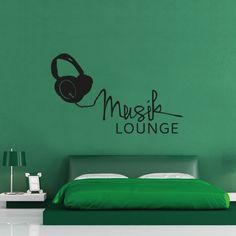 Wandtattoo - Musik Lounge