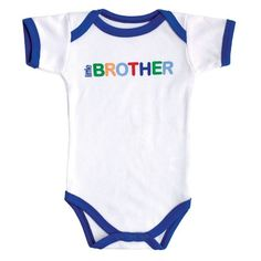 Baby Sayings Bodysuit, Little Brother, 0-3 Months Luvable Friends,http://www.amazon.com/dp/B00E98MZ0C/ref=cm_sw_r_pi_dp_YKRysb1KXH6G0CAF