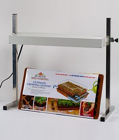 Ultimate Seed Starting Gift Set - I would really like to start my own seeds but the top of my fridge isn't really doing it.