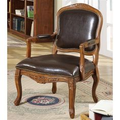 Williams Home Furnishings 1950 Napoleon Occasional Chair