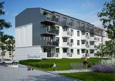 Nowe mieszkania w stanie deweloperskim w Bydgoszczy - Szwederowo  #deweloper #mieszkanie #nowemieszkanie #szwederowo #mieszkanienasprzedaż Multi Story Building, Park, Parks