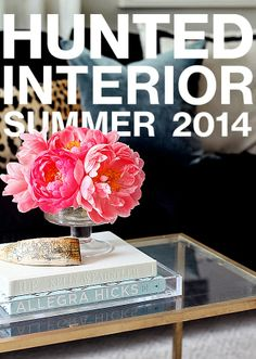 the HUNTED INTERIOR: Summer Home Tour