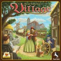 Village társasjáték - Szellemlovas társasjáték webshop