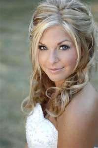 half up wedding hair do