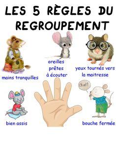 The 5 rules of grouping - Maitresse Myriam Summer Preschool Activities, Preschool Lessons, Preschool Kindergarten, Lessons For Kids, Preschool Winter, Winter Activities, Preschool Crafts, Learning Activities, Teaching Kids