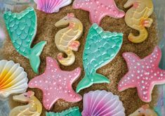 Magical Mermaid Birthday Party | CatchMyParty.com