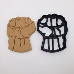 Hulk Hand Cookie Cutter 3.5 inch 3D Printed on Etsy, $8.75