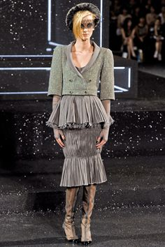 Chanel Fall 2011 Couture Collection Slideshow on Style.com
