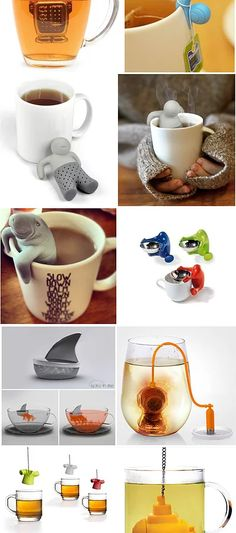 tea infuser - I need one of these if I want to try loose leaf tea, which I do! tea infuser - I need one of these if I want to try loose leaf tea, which I do! :) maybe the Mana-tea or something else R. Pu Erh, Cuisine Diverse, Cool Inventions, My Cup Of Tea, Tea Infuser, Loose Leaf Tea, Kitchen Gadgets, Tea Set, Tea Time