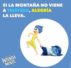 ¡Excelente miércoles! #motivacion #miercoles #1001consejos #pixar #Intensamente