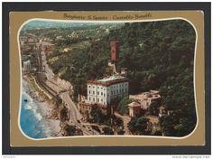Italien - Borghetto S. Santo Spirito - Castello Borelli - affrancata ma non timbrata