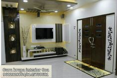 Tv Cabinet Design, Tv Wall Design, Ceiling Design, Living Room Partition Design, Room Partition Designs, Wall Unit Designs, Living Room Tv Unit Designs, Tv Unit Interior Design, Lcd Panel Design