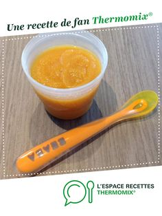 Compote melon - pêche par Heuln. Une recette de fan à retrouver dans la catégorie Alimentation pour nourrissons sur www.espace-recettes.fr, de Thermomix<sup>®</sup>.