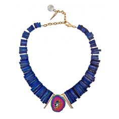 Tiva Lapis Necklace : Gemma Redux New York