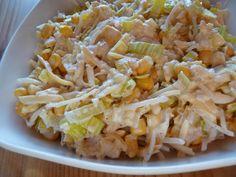 Anioły w kuchni: Sałatka królewska Party Buffet, Pasta Salad, Cabbage, Grilling, Grains, Rice, Cooking Recipes, Vegetables, Ethnic Recipes