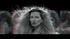 """AnOther Magazine with artist and filmmaker Baillie Walsh, KM3D-1 stars Kate Moss. The work continues Moss and Walsh's journey into experimental, multi-dimensional image-making, first seen in their legendary holographic film for Alexander McQueen's autumn/winter 2006 show."""" SO RAD. AUDIO + VISUAL."""