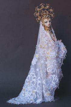 The Swan Princess - Enchanted Doll by Marina Bychkova