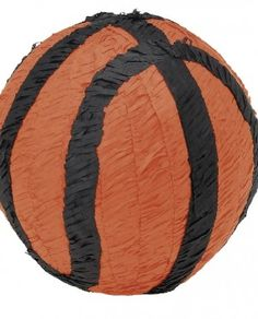 Piñata de basket para los aficionados al baloncesto. Una sorpresa ideal para cumpleaños, despedidas y celebraciones, tanto para niños como para adultos.