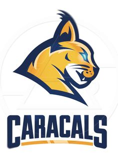 African Buffalo/ Caracal by Adam Sharp | American Logo Sport Theme