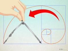 How to Draw the Golden Spiral. Commonly found in nature, the well-known shape of the golden spiral is a unique form but can be sketched nicely using the elements of the Fibonacci sequence. It is fairly simple to draw, and can be quite. How To Draw Sacred Geometry, Geometry Art, Geometry Tattoo, Spiral Drawing, Spiral Art, Shell Drawing, Fibonacci Golden Ratio, Fibonacci Spiral, Graphisches Design