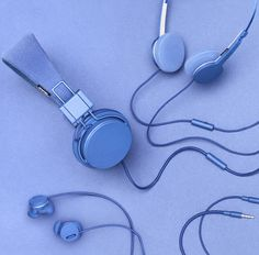 Tone on tone styling - Urbanears by Norra Norr