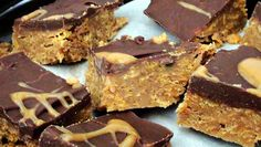 Lyndsay The Kitchen Witch: No Bake Peanutbutter Chocolate Bars