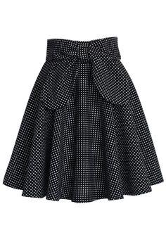 Delight in Dots A-line Skirt - Skirt - Bottoms - Retro, Indie and Unique Fashion Unique Fashion, Modest Fashion, Fashion Dresses, Fashion Fashion, Dots Fashion, Fashion Black, Trendy Fashion, Fashion Women, Fashion Ideas