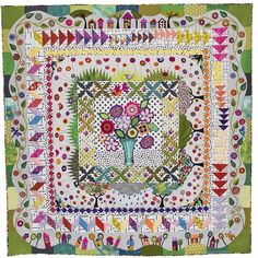 My new bom 'Around the corner' will be released at the Sydney quilt show next…