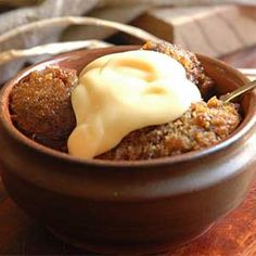Amarula Malva pudding. You can make this gorgeous recipe on the braai!