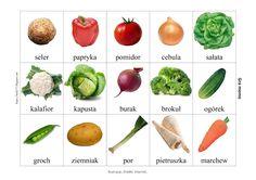 BLOG EDUKACYJNY DLA DZIECI: GRA MEMO - WARZYWA Eggplant, Gra, Stuffed Peppers, Activities, Vegetables, Blog, Crafts, Origami, Polish