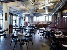 「倉庫→カフェ / warehouse → cafe」  UNION STREET CAFE (England/London)