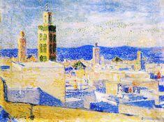 Theo van Rysselberghe, View of Meknes