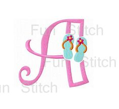 26 flip flop font letters machine embroidery designs special price this week