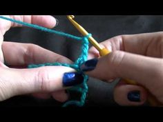 Single Crochet Blanket/Afhgan Getting Started - YouTube