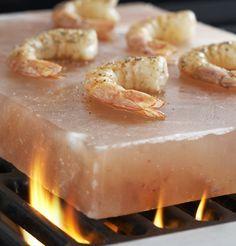 Salt Plate With Shrimp