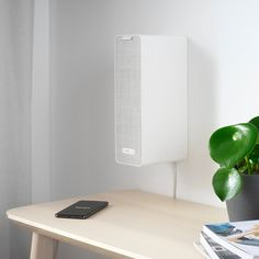 The speaker is a collaboration between IKEA and Sonos, so it easily integrates with other products from Sonos. - The services for streaming music vary between different regions, information about your region can be found on the Sonos website. Apple Inc, Speaker Wall Brackets, Speaker Shelves, Wi Fi, Home Theatre, Sonos App, Le Wifi, Rear Speakers, Home Theaters