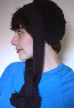 Snowball Bonnet by Anna Elliott