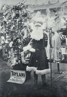 1930, Father Christmas at T. Armstrong & Co.