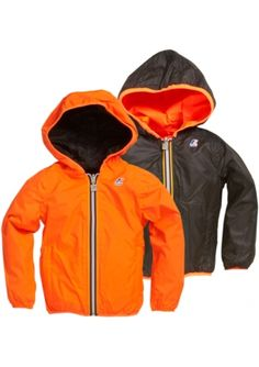 New Brand: K-Way --> Nice Reversible Waterproof & Windbreaking Jackets in bright colours @ Eb & Vloed Lifestyle