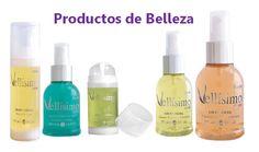 Productos de Belleza marca Vellísimo Center.