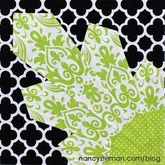Tutorial, 2015 Adventure Quilt block by Nancy Zieman Quilt Block Patterns, Pattern Blocks, Quilt Blocks, Rag Quilt, Sewing Patterns, Quilting Projects, Quilting Designs, Sewing Projects, Quilting Ideas