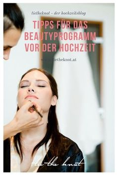 With our tips for the optimal beauty program before the wedding, every . - With our tips for the optimal beauty program before the wedding, every bride will shine in front of - Wedding Make Up, Dream Wedding, Wedding Day, Daily Makeup Routine, Make Up Braut, Wedding Altars, Braut Make-up, Wedding Beauty, Mr Mrs