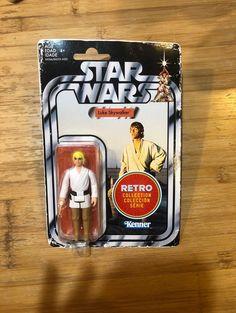 Star Wars Retro Collection Luke on Mercari Luke Skywalker, Age, Retro, Action Figures, Star Wars, Packaging, Stars, Collection, Sterne