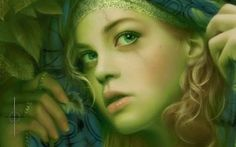 Melanie Delon Digital Art, Fictional Characters, Fantasy Characters
