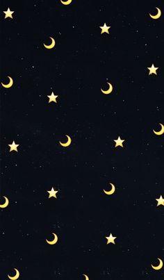 Hintergrund mond Moon and star phone background - - Tumblr Wallpaper, Wallpaper Pastel, Star Wallpaper, Cute Patterns Wallpaper, Iphone Background Wallpaper, Black Wallpaper, Galaxy Wallpaper, Disney Wallpaper, Screen Wallpaper